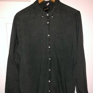 Other - Green button down
